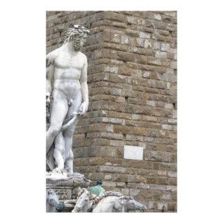 The Neptune fountain and Palazzo Vecchio Stationery