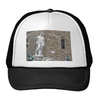 The Neptune fountain and Palazzo Vecchio Trucker Hat