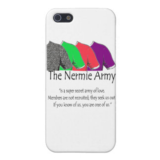 The Nermie Army Case For iPhone 5