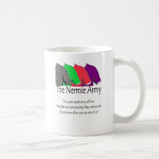 The Nermie Army Classic White Coffee Mug