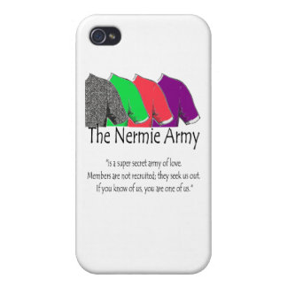 The Nermie Army iPhone 4 Cases