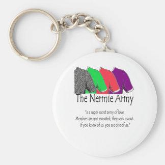 The Nermie Army Keychain