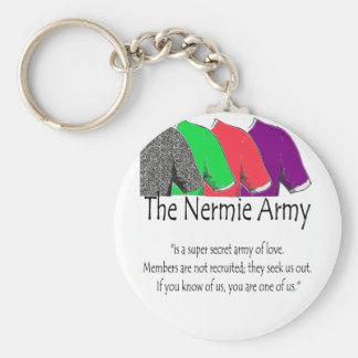 The Nermie Army Keychains