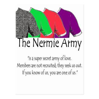 The Nermie Army Postcard