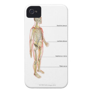 The Nervous System 3 iPhone 4 Case-Mate Case