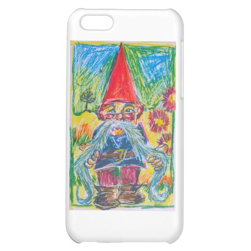 The Nest Builder Gnome iPhone 5C Covers