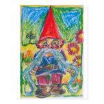 The Nest Builder Gnome Postcard