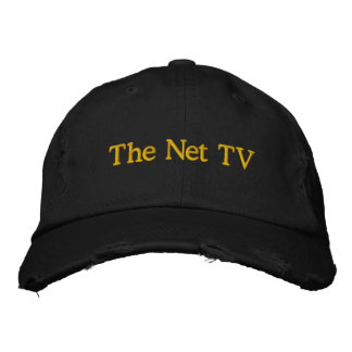 The Net TV Embroidered Hats