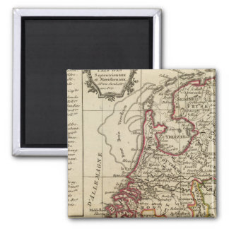 The Netherlands 2 Inch Square Magnet