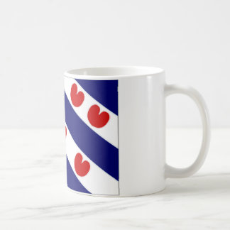 The Netherlands Friesland Flag Coffee Mug