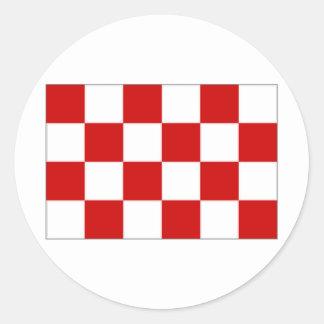 The Netherlands Noord Brabant Flag Sticker