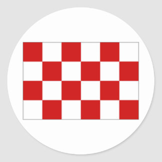 The Netherlands Noord-Brabant Flag Stickers