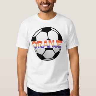 The Netherlands orange ball shirt