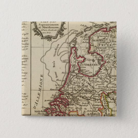 The Netherlands Pinback Button