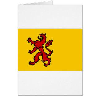 The Netherlands Zuid-Holland Flag Card