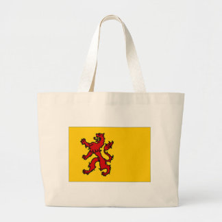 The Netherlands Zuid-Holland Flag Large Tote Bag