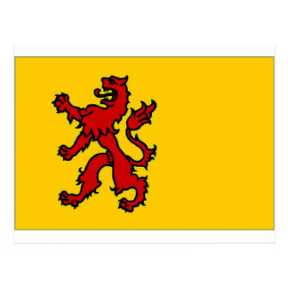 The Netherlands Zuid-Holland Flag Postcard