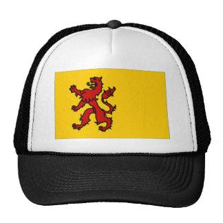 The Netherlands Zuid-Holland Flag Trucker Hat