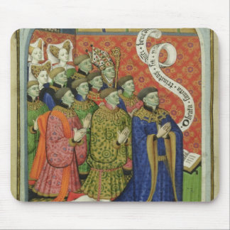 The Neville family at prayer Mouse Pad