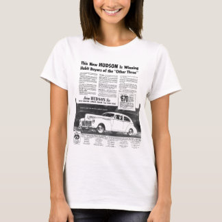 The New 1940 HUDSON Automobile Ladies Baby Doll T-Shirt