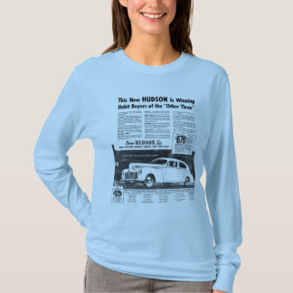 The New 1940 HUDSON Automobile T-Shirt
