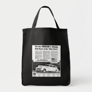 The New 1940 Hudson Automobile Tote Bag