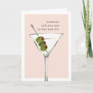 The New 30 | Funny Birthday Greeting Card