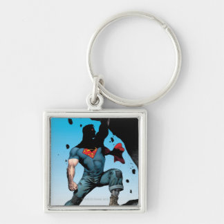The New 52 - Action Comics #1 Silver-Colored Square Keychain