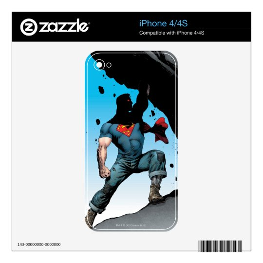 The New 52 - Action Comics #1 Skin For The iPhone 4