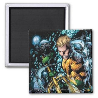 The New 52 - Aquaman #1 2 Inch Square Magnet