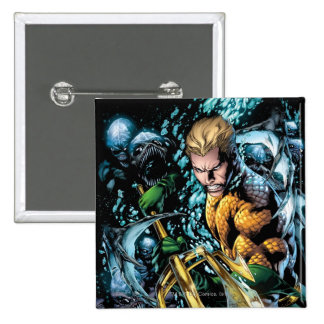 The New 52 - Aquaman #1 Button