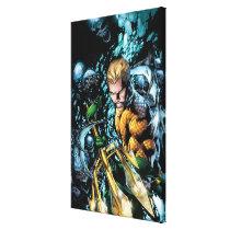 The New 52 - Aquaman #1 Canvas Print