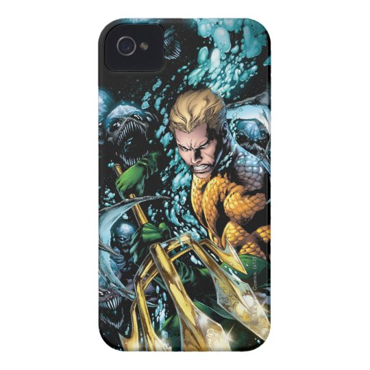 The New 52 - Aquaman #1 iPhone 4 Cover