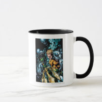 the new 52, new 52, dc comics, comics, justice league, aquaman, auquman, 1, aquaman number 1, aquaman no. 1, Mug with custom graphic design