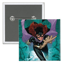 the new 52, new 52, dc comics, comics, batgirl, bat girl, 1, batgirl number 1, batgirl no. 1, Button with custom graphic design