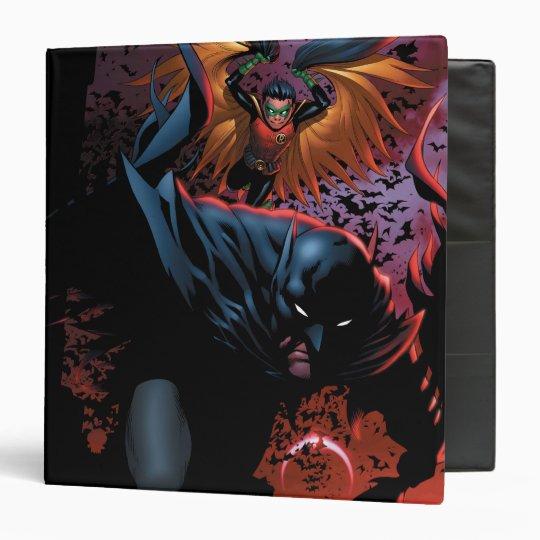 The New 52 - Batman and Robin #1 3 Ring Binder