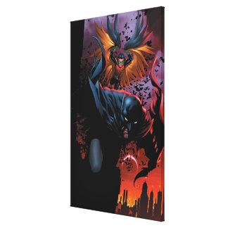 The New 52 - Batman and Robin #1 Canvas Prints