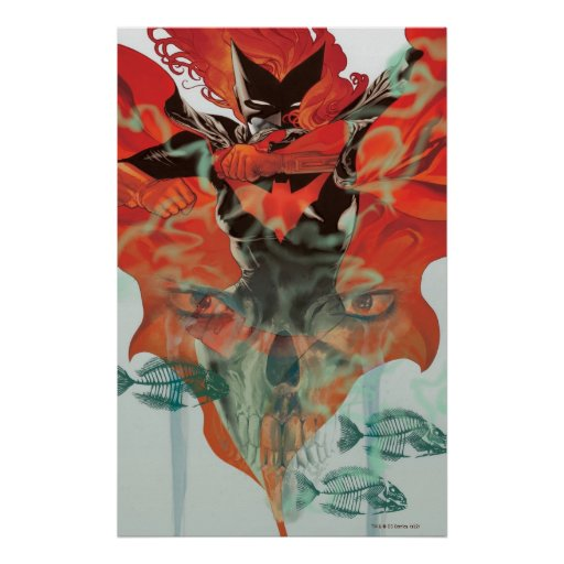 The New 52 - Batwoman #1 Poster