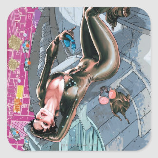 The New 52 - Catwoman #1 Square Sticker