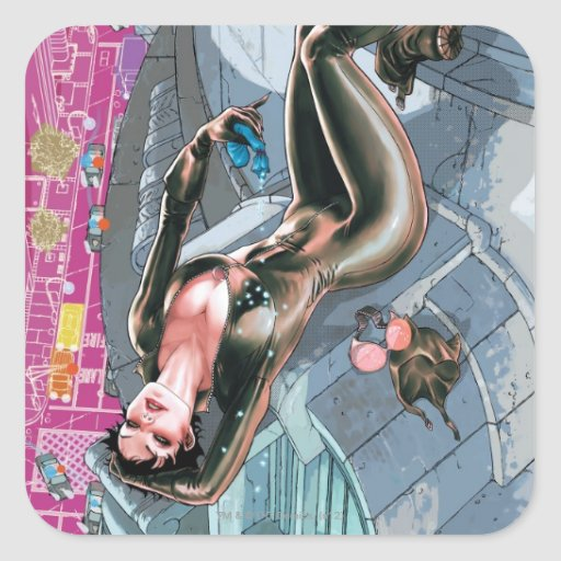 The New 52 - Catwoman #1 Square Stickers
