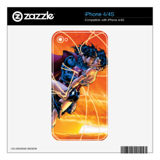 The New 52 Cover #12 Decals For The iPhone 4