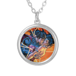 The New 52 Cover #12 Round Pendant Necklace