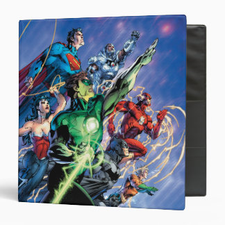 The New 52 Cover #1 3rd Print 3 Ring Binder