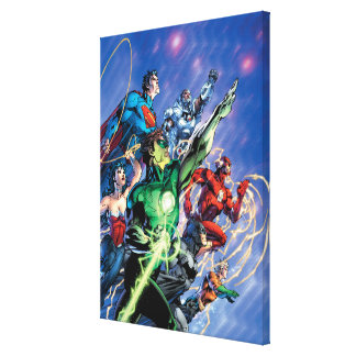 The New 52 Cover 1 3rd Print Canvas Prints