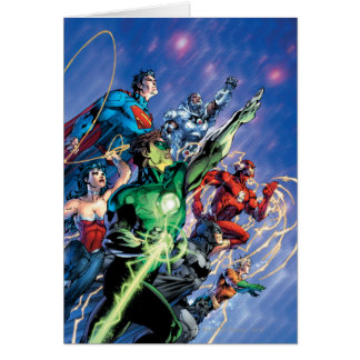 The New 52 Cover #1 3rd Print Card