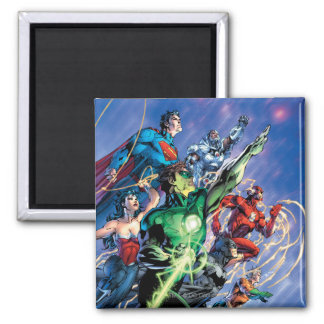 The New 52 Cover #1 3rd Print Fridge Magnets