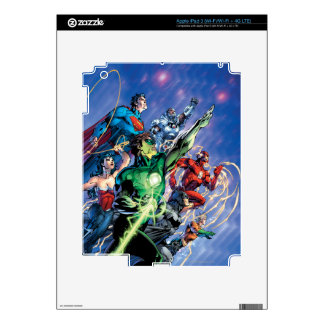 The New 52 Cover #1 3rd Print iPad 3 Skin