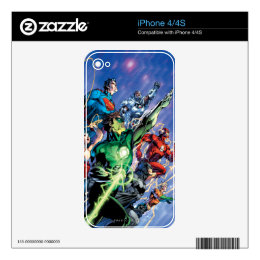 The New 52 Cover #1 3rd Print iPhone 4S Skin