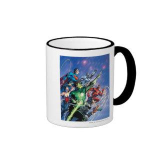 The New 52 Cover #1 3rd Print Ringer Coffee Mug