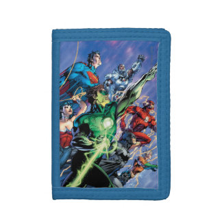 The New 52 Cover #1 3rd Print Trifold Wallets